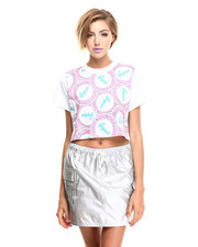 Tops - Resort Icon Cropped Tee