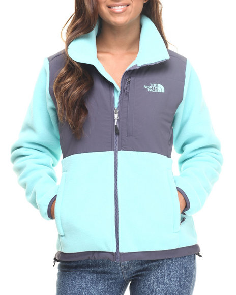 The North Face Grey,Teal Hoodies