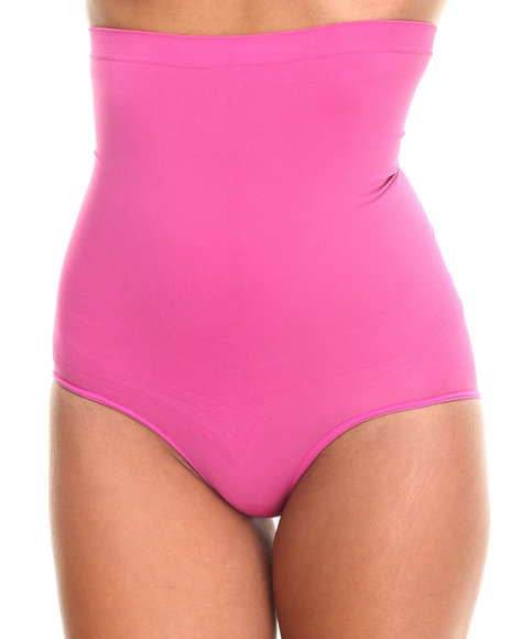 Drj Lingerie Shoppe - Women Pink High Waist Tummy/Hip Shaper