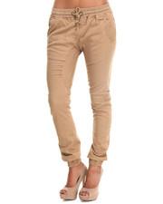 Women - Semi-Crotch Drop Twill Jogger