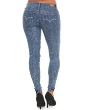 Levi's - 535 Legging w.ultra low rise stretch super skinny