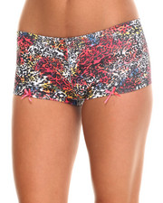 Women - Mixed Animal Cotton Short