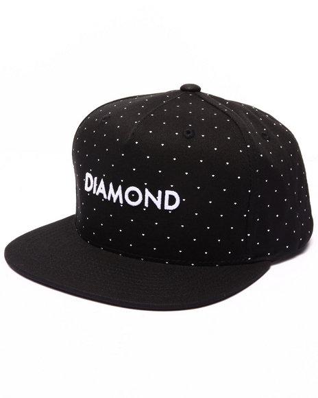 Diamond Supply Co Men Sfda Snapback Cap Black