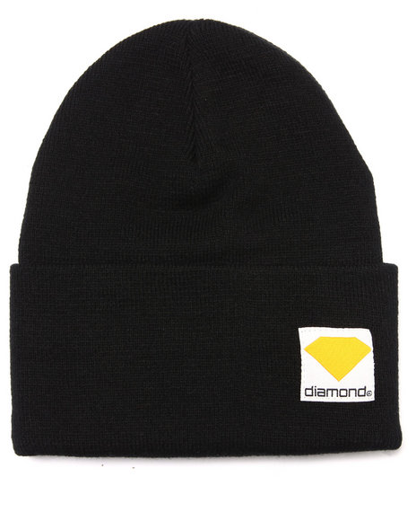 Diamond Supply Co Black Beanie