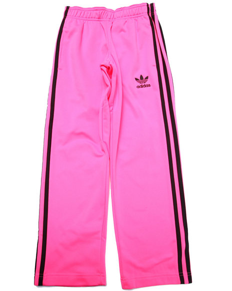 Adidas - Girls Pink Junior Superstar Track Pants