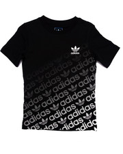 Adidas - Junior Trefoil Graphic Logo Tee