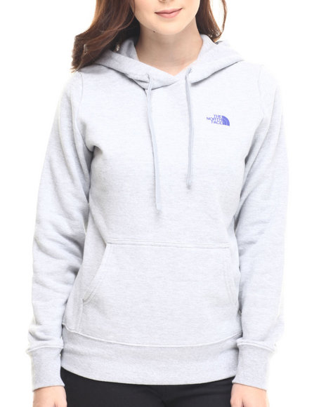 The North Face - Women Grey Shadow Script Pullover Hoodie
