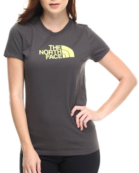 The North Face - Women Grey Short Sleeve Half Dome Tee