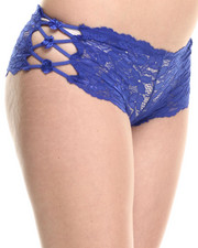 Women - Gallon Lace Cut-Out Sides Short