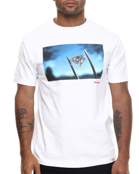 Diamond Supply Co - Men White Diamond Sky Tee