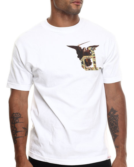 Diamond Supply Co - Men White Un-Polo Angel Tee - $29.99
