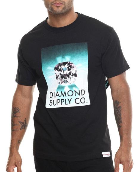 Diamond Supply Co - Men Black Diamond Supply Tee