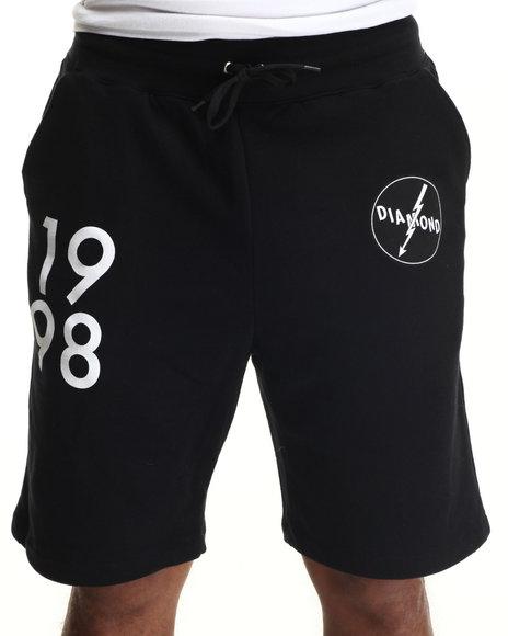 Diamond Supply Co Black Shorts