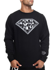 The Skate Shop - Diamond Skulls Crewneck Sweatshirt