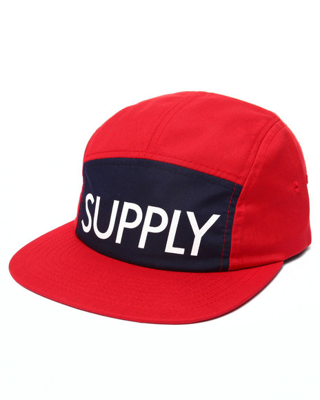 Diamond Supply Co Men Supply Camp Hat Red