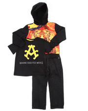 Sets - 3 PC SET - PHARAOH SUBLIMATION HOODY, TEE, & JEANS (4-7)