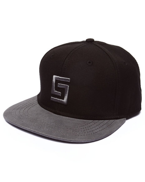 Crooks & Castles Men Greco Logo Snapback Black - $24.99