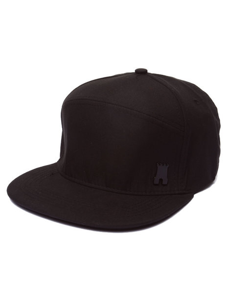 Crooks & Castles Men Califas Metal Badge Strapback Black - $30.00