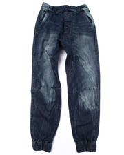Bottoms - DENIM JOGGERS (8-20)