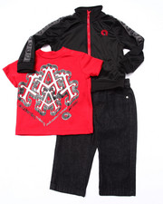 Sets - 3 PC SET - TRACK JACKET, TEE, & JEANS (INFANT)