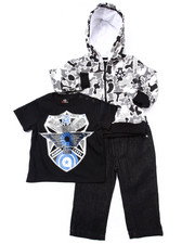 Sets - 3 PC SET - CAMO HOODY, TEE, & JEANS (INFANT)