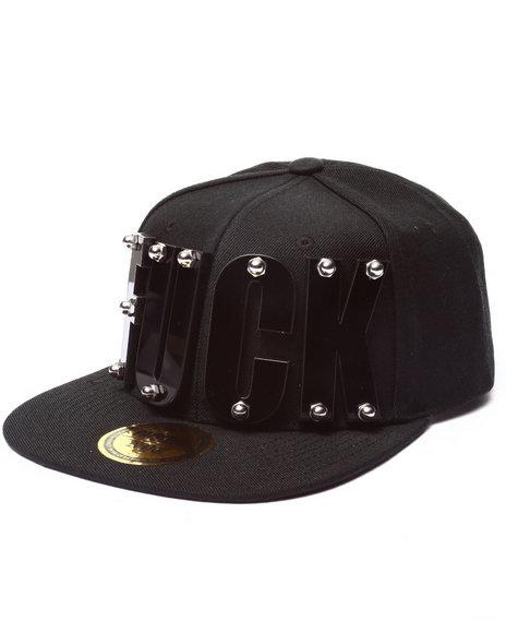 Paislee Men Fuck Paislee Hat Black - $72.99