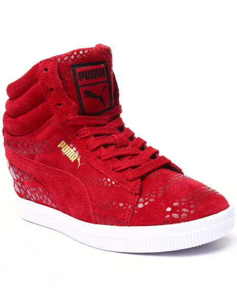 Puma - Women Red Pc Wedge Wr Wns Sneakers