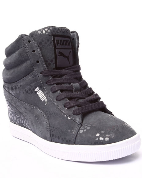 Puma - Women Grey Pc Wedge Wr Wns Sneakers