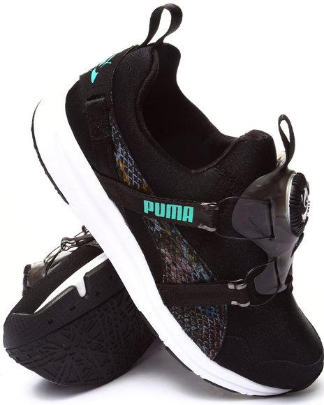 Puma - Women Black Disc Hyper Wns Sneakers