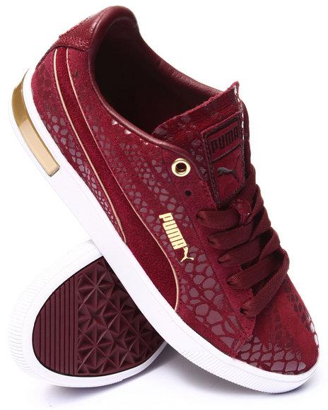 Puma - Women Maroon Pc Femme Low Wr Wns Sneakers