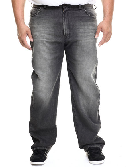 Rocawear - Men Black 5 Pocket Classic Denim Jeans (B&T)