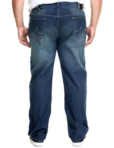 Rocawear - Men Indigo 5 Pocket Classic Denim Jeans (B&T)