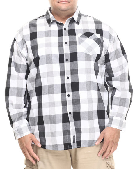 Ecko Black Button-Downs