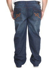 Rocawear - P U Back Pockets Denim Jeans (B&T)