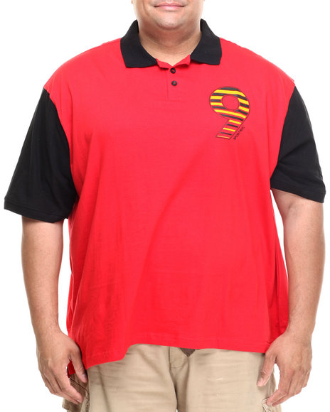 Rocawear - Men Red Washington S/S Polo (B&T)