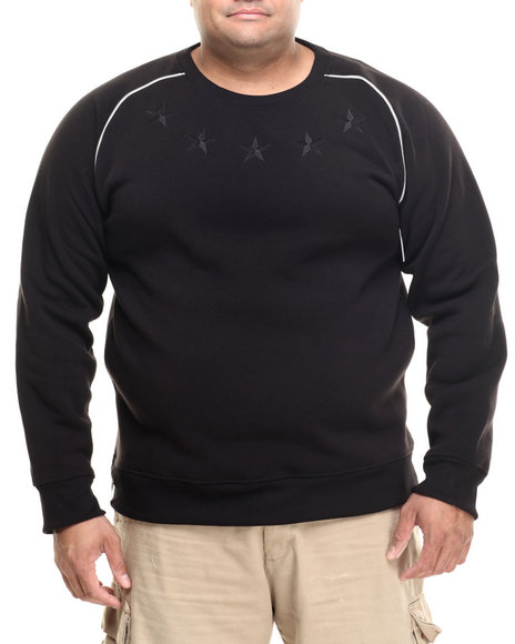 Enyce - Men Black Wolf Raglan Sweatshirt (B&T)