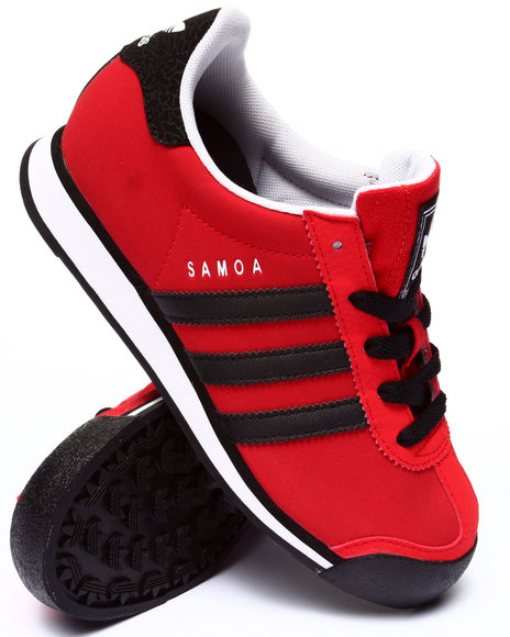 Adidas - Boys Red Chicago Bulls Samoa C Sneakers (11-3)
