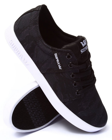 Supra - Men Camo Stacks 2 Black Night Camo Sneakers