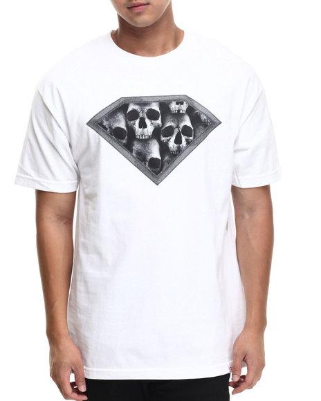 Diamond Supply Co White T-Shirts