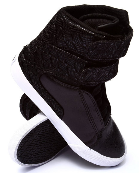 Supra - Women Black Society Ii Leather & Lace Sneaker