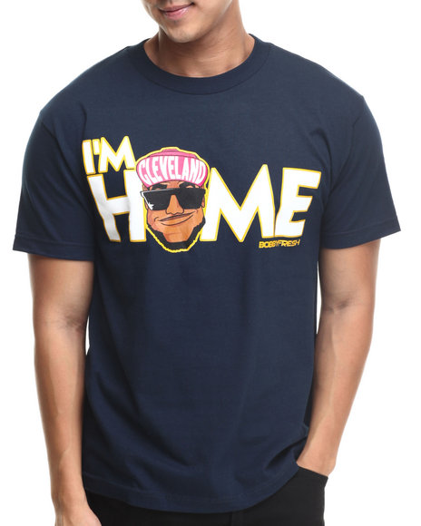 Buyers Picks - Men Navy Bobby Fresh - Im Home S/S Tee