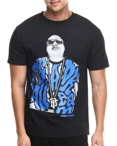 Buyers Picks - Men Black Bobby Fresh - Dream Big Sr S/S Tee
