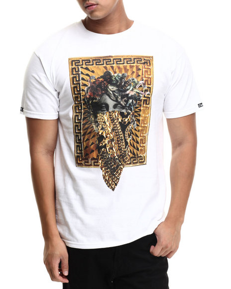 Crooks & Castles - Men White The Standard T-Shirt
