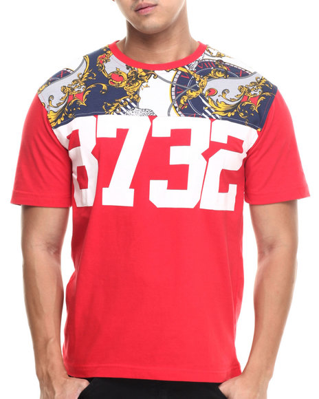 Eight 732 - Men Red The World Lux T-Shirt