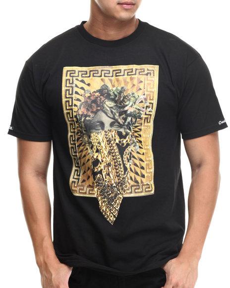Crooks & Castles - Men Black The Standard T-Shirt