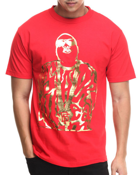 Buyers Picks - Men Red Bobby Fresh - Dream Big Foil S/S Tee