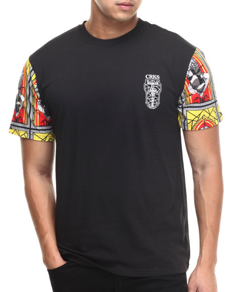 Crooks & Castles - Men Black Bishop T-Shirt - $32.99