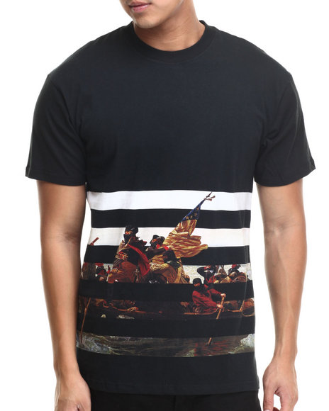Crooks & Castles - Men Black Delaware T-Shirt
