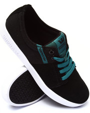 Men - Stacks 2 Black Suede/Canvas Sneakers