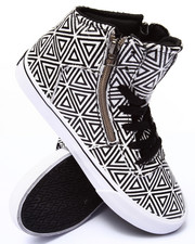Women - Cuttler Diamond Print Sneaker